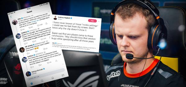 Smoking hot discussion between the pros on Twitter after